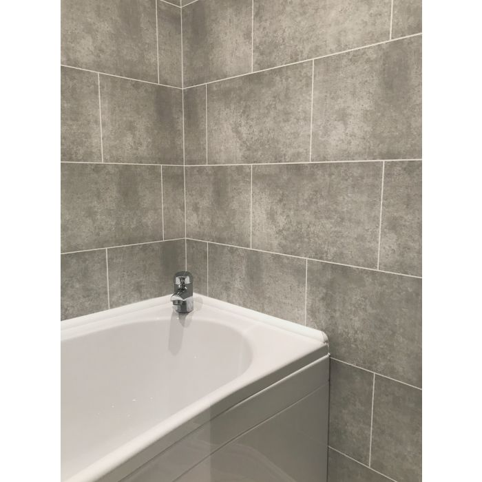 2 X Shower Wall Panels End Trim 5mm X 2700 long at very best price