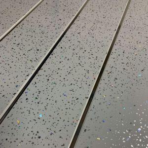 Grey Sparkle Chrome 5mm Wall Panel