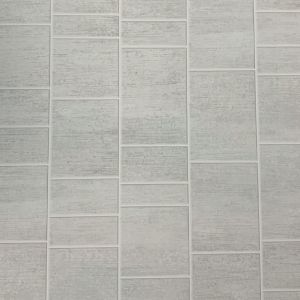 Multi Grey Tile 1m Shower Wall Panel