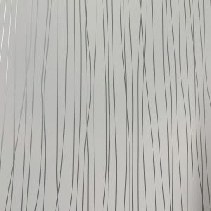 White Silver Twist 1m Shower Wall Panel