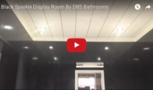 Black Sparkle Display Room
