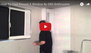 How to clad around a window