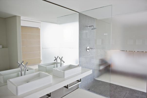 cladded bathroom