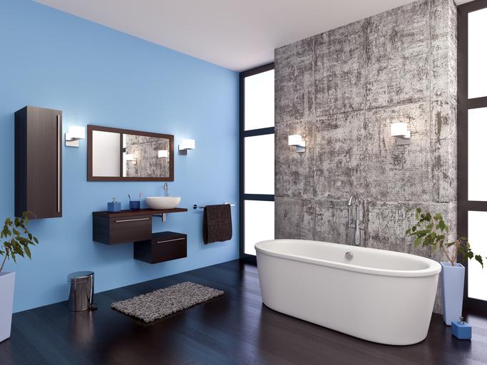 bathroom trim