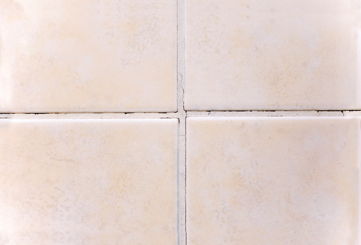 mouldy grout