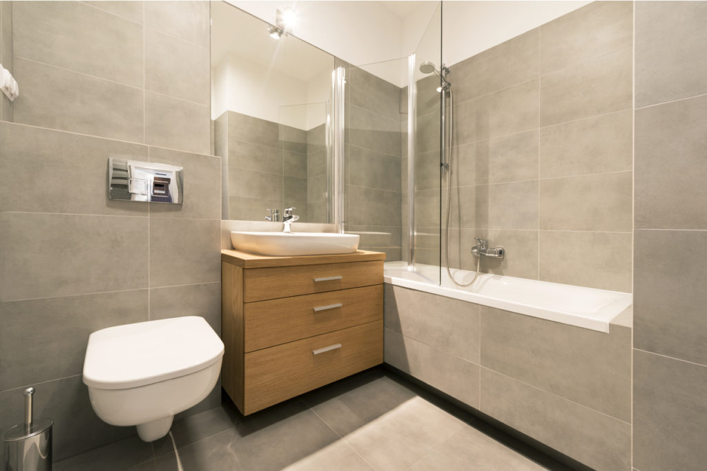 How Our Pvc Wall Cladding Smartens Up A Drab Bathroom