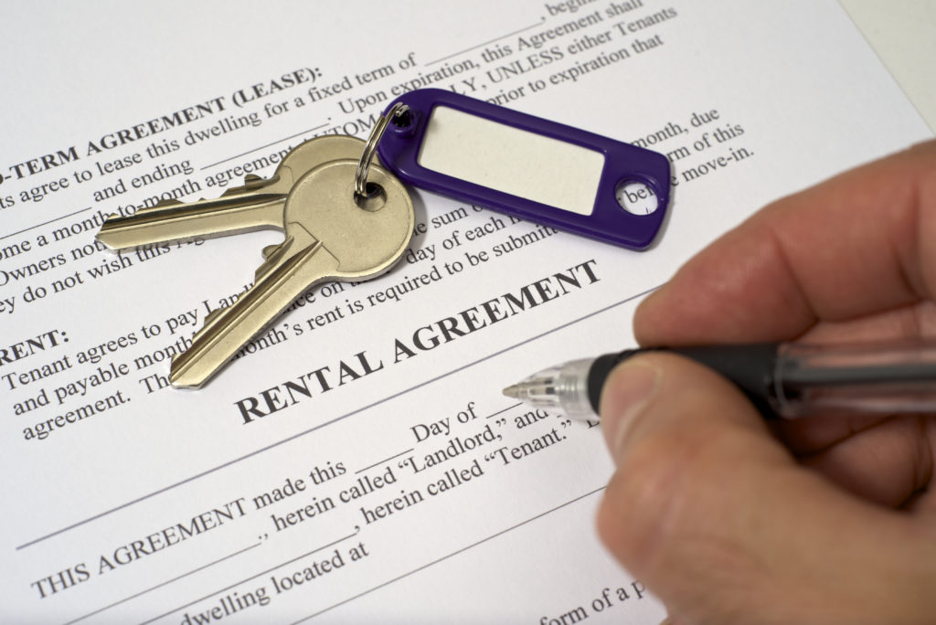 landlord rental agreement