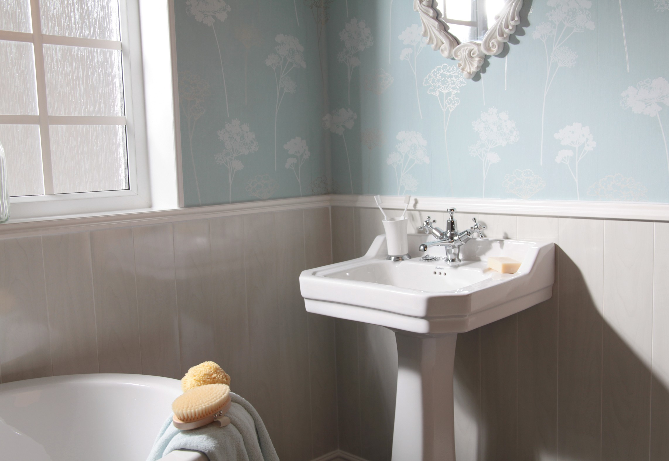 How To Use Wall Panels In Traditional, Paneling For Bathroom Walls