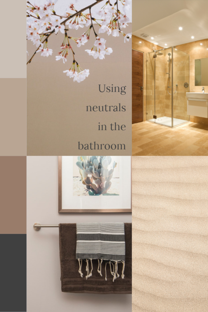 Using neutrals in the bathroom