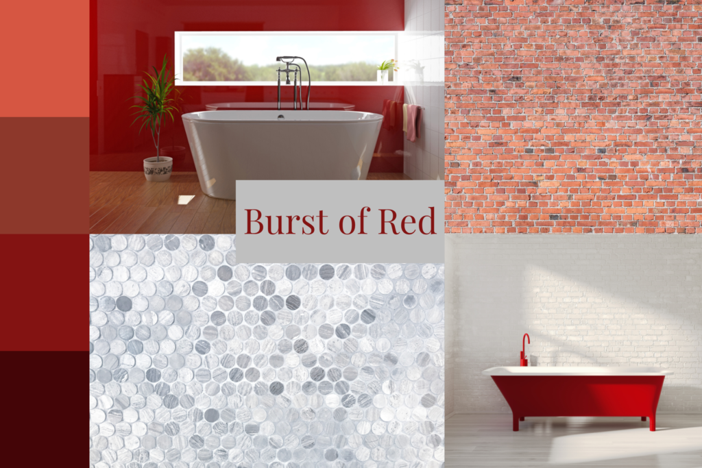 Red moodboard