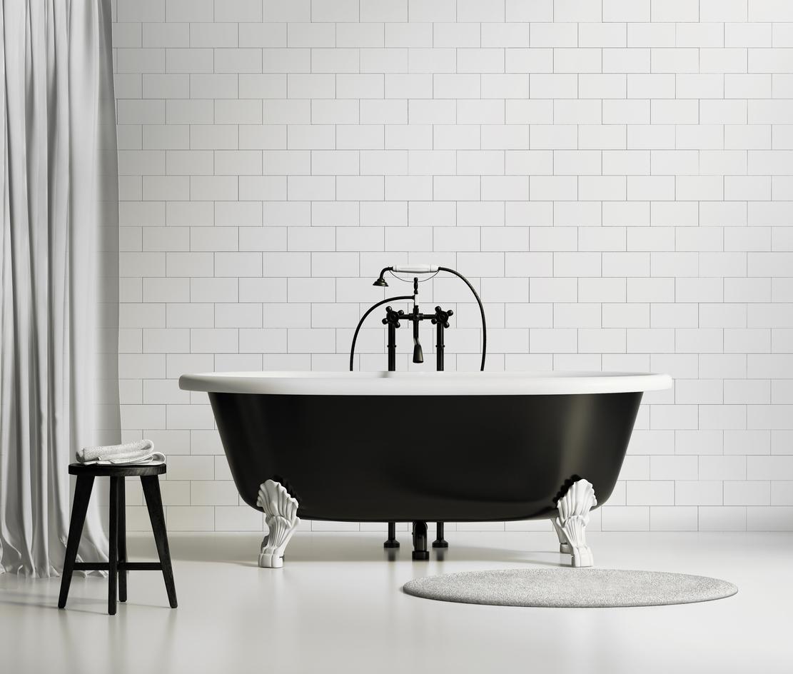 Modern Monochrome Bathroom Ideas on Monochromatic Bathroom Ideas  id=84042