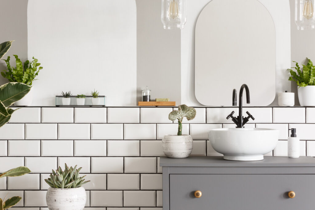 Subway Tiles Trend For Bathrooms Dbs Bathrooms